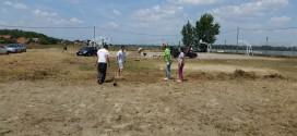 Grocka: Uređuju se tereni za odbojku na obali Dunava