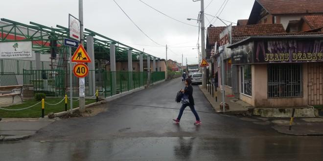 KALUĐERICA: Od danas Kopaonička ulica jednosmerna, radovi na novoj pijaci u završnoj fazi (FOTO)