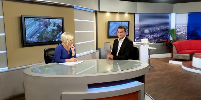 Gostovanje predsednika GO Grocka Stefana Dilberovića na Studiju B 5.10.2015 (VIDEO)