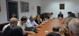 Одржан састанак председника ГО Гроцка Драгољуба Симоновића са грађевинским и комуналним инспекторима