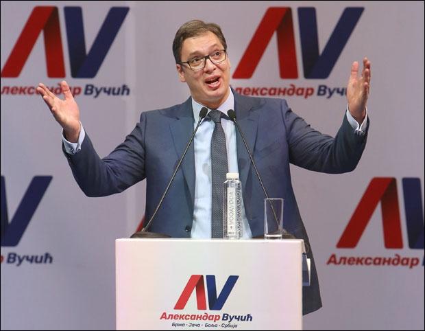 Ipsos: Vučić ubedljivo prvi, Janković drugi sa 12 odsto Tanjug   22. mart 2017. 12:03   Komentara: 0 Lider naprednjaka Aleksandar Vučić ima ubedljivo najveću podršku birača, sa više od 50 odsto onih koji bi na predsedničkim izborima glasali za njega, na drugom mestu je Saša Janković sa 12 odsto FOTO TANJUG / RADE PRELIC FOTO TANJUG / RADE PRELIC